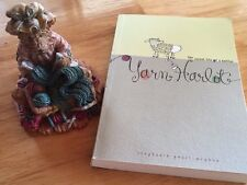 Yarn Harlot: The Secret Life of a Knitter.  Knitting Book & Bear Figure Lot Gift