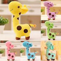 Giraffe Baby Kinder Plüschtier Stofftier Kuscheltier Plüsch Puppe Geschenk Toys