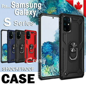 For Samsung Galaxy S10e S9 S10 S20 Plus S20 Ultra Case Magnetic Kickstand Cover