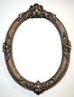 Foto Frame Black Color Vintage Gothic Style Decorative Round Square Black