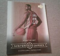 "2003-2004 Upper Deck ""Ready or Not"" #30, LeBron James RC Cleveland Cavaliers"