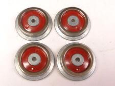 """SLS-35 Red Disc Wheels for Lionel Prewar """"O"""" Electric Locomotives, Set of 4"""