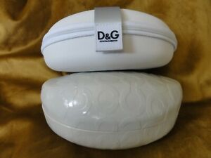 PRE-OWNED LOT OF 2- WHITE COACH & DOLCE GABBANA SUNGLASSES CASES