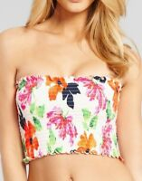 SEAFOLLY Rio Shirred Tube BANDEAU BIKINI TOP NEW