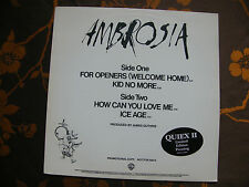 """MAXI 12"""" PROMO AMBROSIA – For Openers (Welcome Home)  Warner Bros.– PRO-A-1024"""