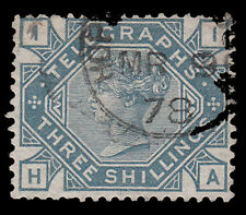 SGT11 3s. Telegraph with nice cds cancel. E1111