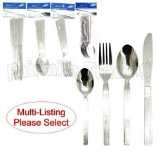 Stainless Steel Tea Desert Table Spoon Fork Knife Cutlery Dining Tableware Value