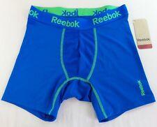 Reebok Hombre Performance Calzoncillos Boxers Pequeño 28/30 Azul BILLETES 15.2cm