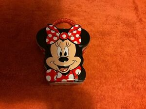 Minnie Mouse Tin Lunch Box Toy Storage Box