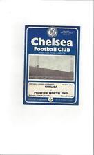 Chelsea Division 2 Home Teams C-E Football Programmes
