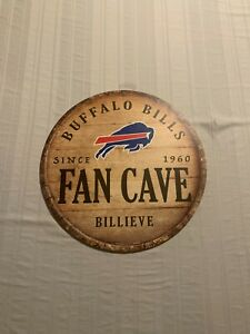 "Buffalo Bills NFL 14"" Wood Decorative Indoor Sign Wincraft Brand New"