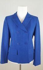 Vintage Donna Karan New York DKNY Blue Blazer Double Breasted Size 2 (C)
