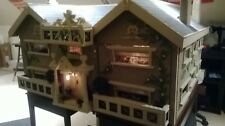 Large Beautiful Vintage Dolls House Renovated to Victorian Style 3ft x 3ft sq