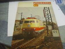 FLEISCHMANN SPUR HO KATALOG 1971 TOP!!  OW37/19