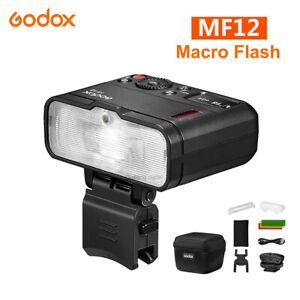 Godox MF12 Macro Flash Light 2.4GHz Wireless Control Speedlite for Camera DSLR