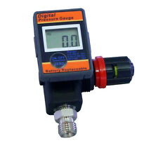 "LEMATEC Digital 1/4"" Compressor Mini Pressure Gauge Air Regulator for air tools"