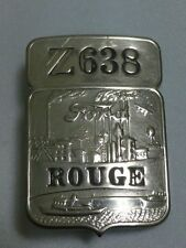 """Vintage Ford Employee Badge """"Z638 Rouge"""""""