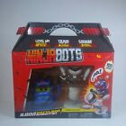 New Ninja Bots Hilarious Battling Robots Blue Cobra with 3 Weapons and Trainer