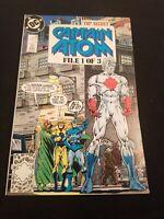 SUPER RARE! TOP SECRET CAPTAIN ATOM FILE 1 OF 3 1989, DC COMICS ENG, 1ST Edition