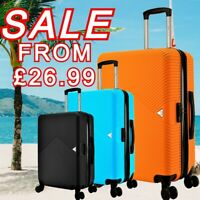 "28"" EXPANDABLE HARDSHELL ABS 8 Wheel Lightweight Suitcases Luggage Travel Bags"