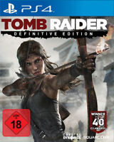 PS4 Tomb Raider Definitive Edition Game for the New Playstation 4 New