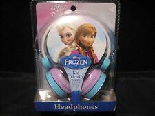 Disney Frozen Elsa & Ana Kid Friendly Volume Headphones FR-V126.EX NEW!