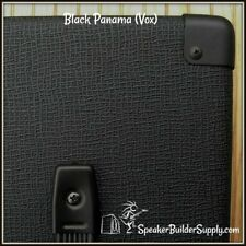 """Black Panama tolex (as found on Vox and Hiwatt amps)  18"""" WIDTH!"""