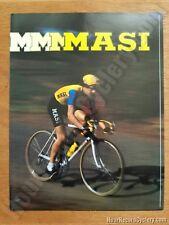 Masi Catalog USA Faliero Masi Vintage Gran Criterium NOS brochure catalogue