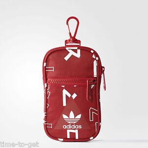 Viaje Perjudicial esta  Las mejores ofertas en Adidas Rojo mochilas, bolsos y maletines para  hombres | eBay