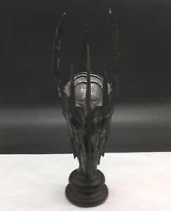 Lord of the Rings Helm of Sauron Sideshow Weta Mask Base David Tremont Metal