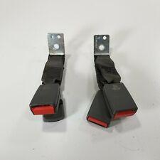 09-11 Jaguar X250 XF Rear Seat Belt Buckle (Set of 2) Black OEM
