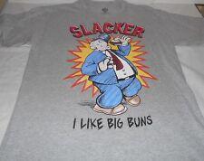 Popeye Wimpy Slacker I like big buns Tee Shirt T-shirt  Medium   NWOT  C-340