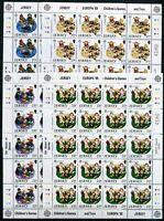 Jersey Kleinbogensatz MiNr. 476-79 postfrisch MNH Cept 1989 (CB732