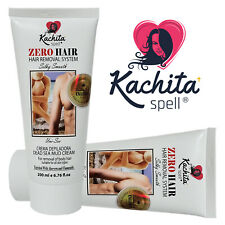 ZeroHair Hair Removal System Depilatory Cream Crema Depiladora Kachita Spell