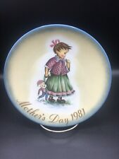 """""""Playtime Mother's Day plate 1981"""" Schmid collector plate ~"""