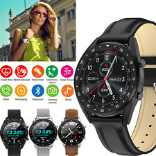 Luxury Smart Watch Bluetooth Phone Call Text for Android Galaxy S10 Plus S9 S20