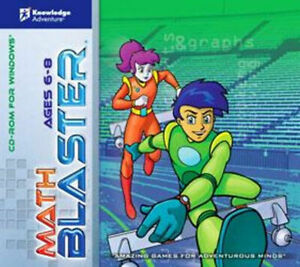 MATH BLASTER Ages 6-8   Vista 7 8 10   High-energy games encourage kids to learn