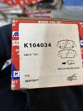 Kia Ceed Front Break Pads 2012-