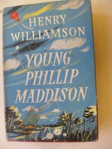 YOING PHILLIP MADDISON Henry Williamson 1st edition 1953 Dust wrapper 25N