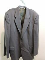 Barneys New York Kilgour, French & Stanbury 100% Wool Green Lined Blazer Sz- 39R