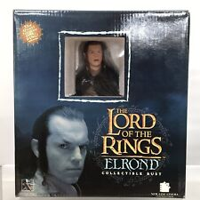 Lord Of The Rings Gentle Giant Elrond Collectible Bust 828/2500 LOTR Box 2007