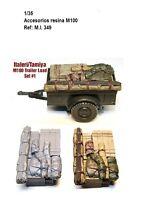 1/35 Resina accesorio para M100 trailer load estiba tanque maquet italeri tamiya