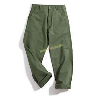 Workwear OG-107 Fatigue Utility Pants Men's Baker Pants Vintage Army Trousers