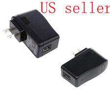 New USB DC 5V 2A US Plug USB Power Supply Adapter Converter Charger *5V 2000mA*