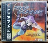 Trap Gunner PS1 Playstation One Complete CIB ATLUS PSX PSOne