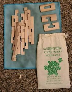 house of puzzles wooden puzzle 15 piece