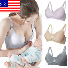 4714a78224e Women s Pregnant Maternity Bra Wireless Ladies Breastfeeding Nursing  Underwear W