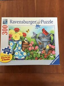 """Ravensburger 300 Large Piece Jigsaw Puzzle """"Garden Traditions"""" 2017"""