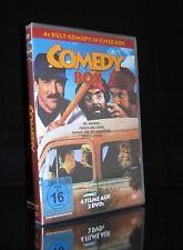 DVD COMEDY BOX - MR. BASEBALL + CHEECH & CHONG + BIGFOOT UND DIE HENDERSONS *NEU