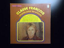 Rare Livre disque Claude François Chante pour les enfants Philips TBE